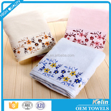 promotional gift cartoon jacquard 100% cotton terry hand towel