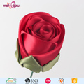 Decorative handmade flowers satin ribbon roses for gift