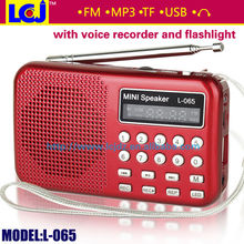 2015 hot recording pen with fm radio mp3 player