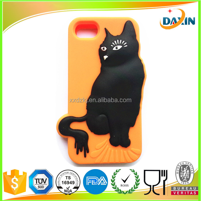 2015 Design silicone rubber phone case for mobile phone 5 / 6