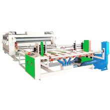 China Automatic chain-type bicolor printing grooving machine/two color flex printing machine