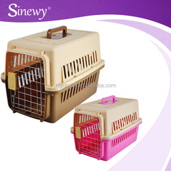 dog crate cage pink pet carrier for sale