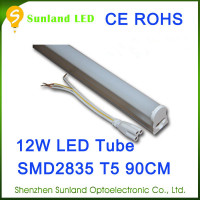 Competitive CE ROHS T5 12w SMD2835 1200lm hot sale