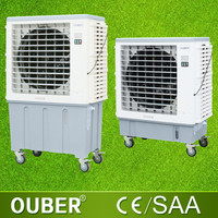 New plastic water evaporator fan portable evaporative air cooler outdoor electric cooler