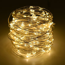 Hot sale christmas street light decoration silver wire led diwali lights for garden