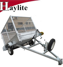 High quality utility box tipping cage trailer used for farm