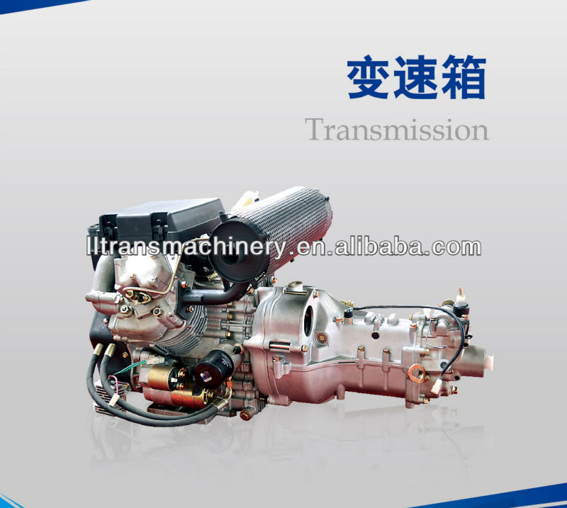 22 hp double cylinder diesel engine transmission