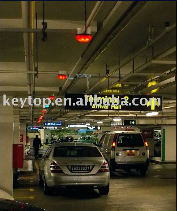 parking asist system(Singapore Changi Airport)