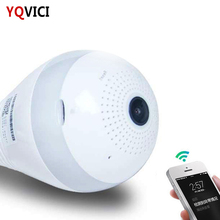 Night Vision 360 Degree Wifi Hidden Light Bulb Camera