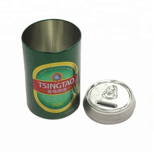 New Coin Factory Small Beverage Can Metal Money Tin Box Coin Tin Bank