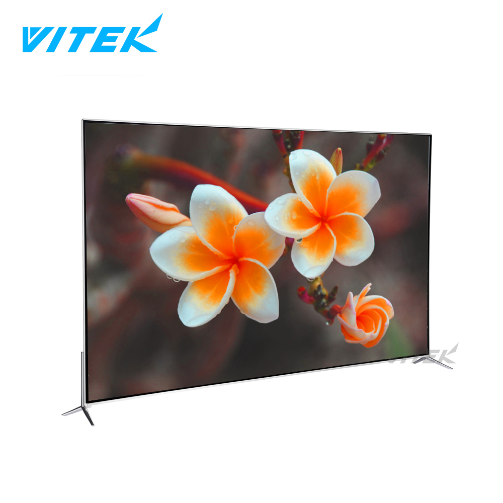 4K UHD Flat screen wholesale TV QLED, Digital Television 4K 60 55 inch 4k QLED tv, QLED LED 55 65 75 inch smart television