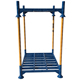 warehouse stacking pallet metal pallet rack storage