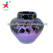 WHOLESALE PURPLE GLASS VASE