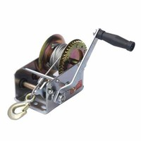 heavy duty hand winch with brake