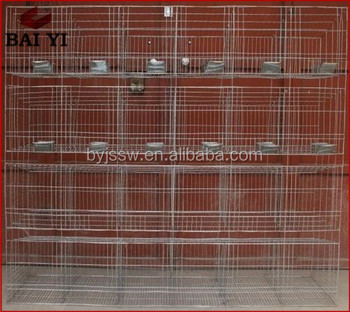 Steel Used Rabbit Cage Mesh In Large Farm