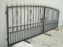 Galvanized cast Iron gate for home