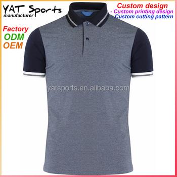 ecff2011a Factory Nylon spandex polo shirt custom men sport shirts tennis shirt