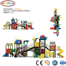KINPLAY brand factory production sale funny giant kids outdoor playground slide