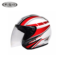 Cheaper ABS motorbike helmets decal ECE approved open face helmet motorcycle