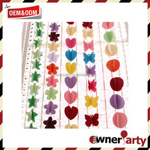 Party Decoration High Quality Paper Garlands Popular Hot Sale Paper Chains and Garlands