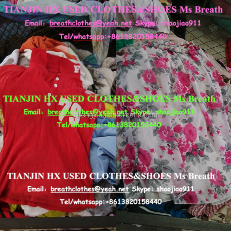 used clothing manufacturers