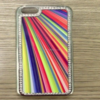 diamond cases for iphone mobile , sublimation cellphone case
