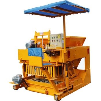 YLF6-30 mobile hollow bricks manufacturing machine