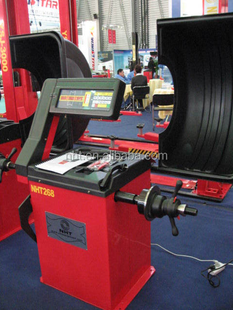 Direct Factory High Quality CE ISO Certification Automatic Measurement Mode Wheel Balancer Tyre Balance Machine Factory