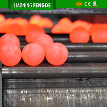 Wear Resistant Cast Steel Iron Ore Grinding Ball for Ball Mill Machine