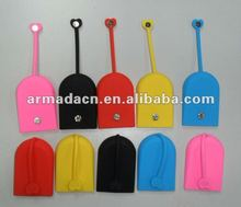 New Design Silicone Key Bag With Magnet Button