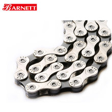 Bike chain 10 speed 116links <strong>X10</strong> for cycling BMX no hollow in silver