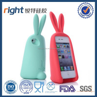 rabbit silicone phone case