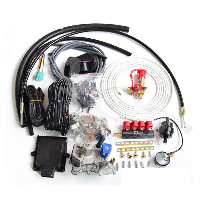 CNG LPG <strong>Injectors</strong> 4/6/8 Cylinder Converter Kits Complete kit