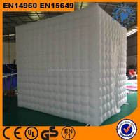 cheap white best quality photo booth inflatable