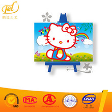 Hot Mini DIY crystal Round Diamond 5D Children Painting Diamond Embroidery Painting with Bedroom Decor Kids Gift