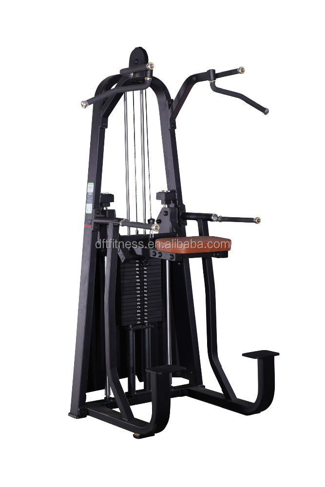 2016 Top Quality Dip/Chin Assist DFT-609/Commercial Fitness equipment/Gym equipment from Dezhou factory