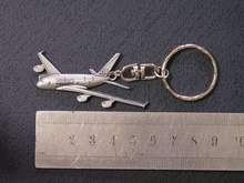 Airbus 380 pewter key chain And Pins