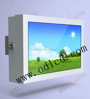 Sun readbale and waterproof all weather hd wall hanging advertising equipment