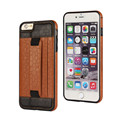 New Customized Leather Cover Case for Apple iPhone 6/ 6 plus Skin