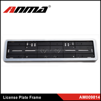 best selling custom plastic motorcycle license plate frame