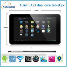 dual core cpu 10 inch mid tablet pc front and rear camera
