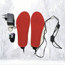 new rechargeable battery electric wireless foot heater free shipping Insoles