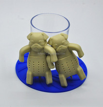 The new hot wholesale dog toys / pet dogs tea infuser for dog tea bag