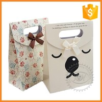 2016 fashion design gift paper bags with various patterns wholesale