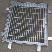 High Quality Stainless Steel Drainage Pit Cover Trench Cover Manhole Covers HY-01