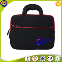 Cheaper high quality custom velvet neoprene laptop bag sleeve