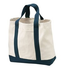 recyclable 2017 cotton canvas shopping bag