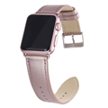 Rose Gold Soft Genuine Leather Strap for Apple Watch Series 3/2/1 Hot Selling