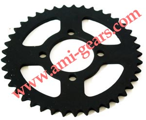 1045# steel high quality motorcycle sprocket 428/428H 41T