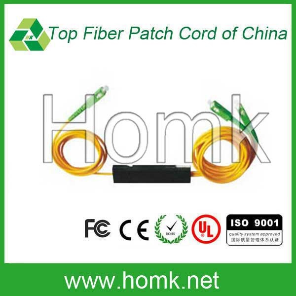 1*2 tapered Fiber splitter LSZH Fiber Patch Cord Fiber Optical Splitter